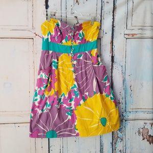 Anthropologie We Love Vera Dress Late Bloomer Sz 8